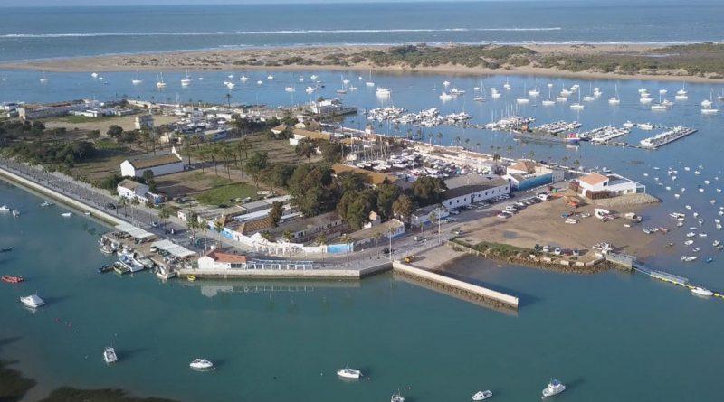 Vista aérea de Sancti Petri