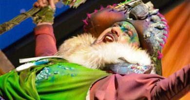 Ramoni, pregonero del Carnaval de Chiclana 2020