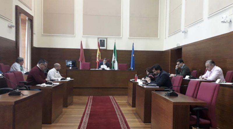 Pleno en el Ayuntamiento de Chiclana