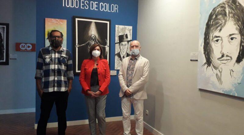 El pintor José Manuel Reyes nos muestra los colores del flamenco en el Museo de la Ciudad