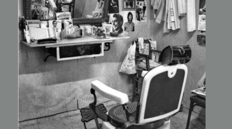 El sillón del barbero